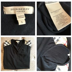 Burberry Tops - Burberry cotton t-shirt > Authentic